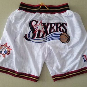 NEW Just Don Philadelphia 76ers Basketball Shorts